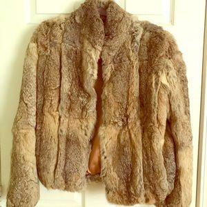Vintage Elam Rabbit Fur Coat